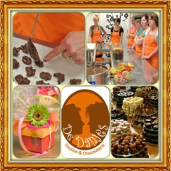 In chocolade zit een snufje endorfine, dit maakt geluksgevoelens aan, geluk dat je wilt delen met anderen.