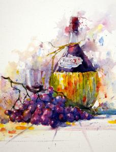 De Donkhoeve Aquarelleer workshop