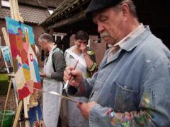Met familie, vrienden of collega's lekker een dagje schilderen?