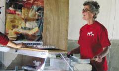Verkoop van geitenkaas e  melk op zaterdag van 11.00 tot 16.00 uur