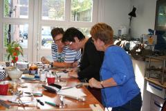 Edelsmederij Puur en pracht Creatief met zilver, workshop zilveren sieraad mak