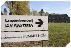 Kampeerboerderij Van Pinxteren beschikt over twee gebouwen die los van elkaar geboekt kunnen worden.