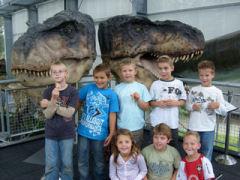 Alle  basisscholen kunnen bij het Oertijdmuseum terecht voor een leuke en leerzame Oertijdles.