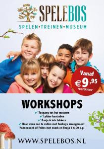 Kom je lekker knutselen bij museum Spelebos?