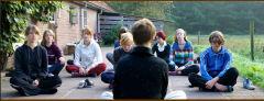 Een training waarbij meditatie én beweging samenkomen.