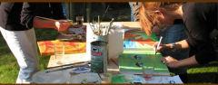 De schilderworkshops die wij geven zijn geschikt voor jong, oud, ervaren of onervaren creatievelingen