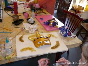 Wat is er nu leuker dan op je eigen verjaardagsfeestje een leuke, eigen uitgezochte creatie te maken.